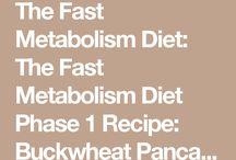 Snelle stofwisseling dieet