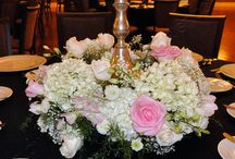 Dorce Wedding / Elegant wedding designed by Flowers From The Rainflorist made up of roses, hydrangea, calla lilies, and orchids!