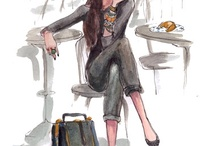 Fashion illustrations / by Kaitlin