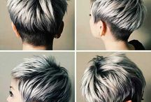 silver end black pixie