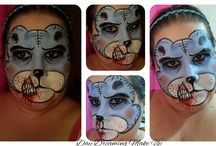 Halloween 2015 / Halloween make up and face painting