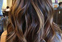 Μαλλιά καστανα