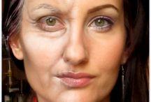 Postarzanie makijażem