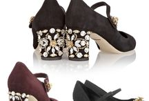 zapatos con piedras