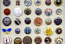 Buttons, Enamel and Silver