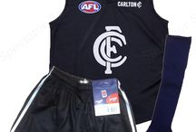 AFL Footy Kids Youths Auskick Playing Pack - Jumper, Shorts and Socks / This pack includes: AFL Footy Jumper Jersey Guernsey, AFL Team Shorts, AFL Team Socks. Jumper made from Polyester,Shorts made from 100% Polyester and Foot - 70% pure cotton, 30% nylon. Leg - 100% stretch nylon.