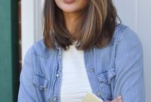 Long bob hairstyles / Long bobs and ombre locks...