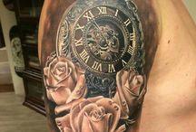 Tattoo klokken