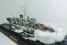 Ian's model warships