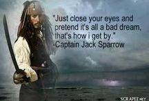 Pirates of three Caribbean quotes
