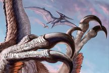 dinosauři, predátoři, prastaré rostliny a zvířata ;-)