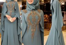 my Moslem dress inspired