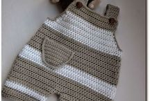 Baby clothes hand made