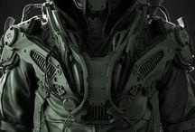 Zbrush / Technical concept art