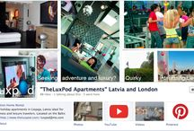 To Connect With Us / Thank you for visiting TheLuxPod vacation rental apartments in London and Latvia, including the Baltic Coast.  My boards feature the apartments as well as the things I love so much about these two stunning destinations. For tips and hints on travel to these two destinations and to connect with me, check out www.facebook.com/TheLuxPodApartments