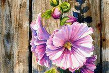 Цветы / Рисуем цветы