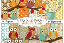 Digital Scrapbook: Autumn / Fall / Autumn / Fall clip art / by Heart of Wisdom