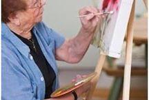 Les in schilderen