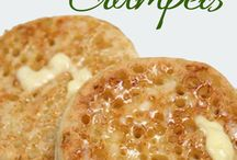 How to make crumpets