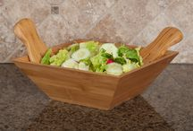 SM Bowls® / Dress up your dinner table with SM Bowls® serving bowls! Our bamboo bowls match any decor and are easy to clean. Practical and attractive, you'll find you reach for these classic bowls every day.
