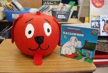 Literary Character Pumpkins