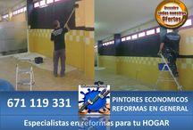 Remodelacion de gimnacio Europa / Albañileria,Pintura,Electricidad,Colocacion de Circuitos Virtuales.