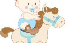 baby shower horse boy