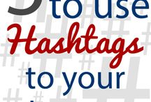 hashtags / by Jenneil Peters