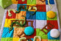 Snakes and ladders quilt
