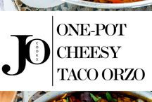 RECIPES - One Pot Dishes
