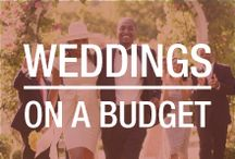 Weddings on a Budget / The average cost of a wedding today is nearly $30,000. Even if you have an extra $30,000 to spend on your wedding, it doesn't mean you should. Here are resources on throwing your dream wedding on a reasonable budget.