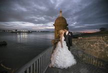 Destination Weddings in Puerto Rico / Puerto Rico is tailor-made to host a destination wedding and is the perfect escape for a honeymoon. We offer an unbeatable diversity of venues, from the elegant colonial majesty of Old San Juan, to an idyllic beachfront setting, to the verdant backdrop of a rainforest. If you want, we can even get you married in a spectacular subterranean cavern or say your vows while paddleboarding!