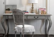 Shabby chic Furniture grey and black / Shabby chic,  chalk paint , furniture