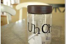 Cricut vinyl mason jars