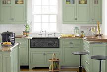 Paint kitchen cabinets / Chalk paint