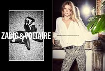 SPRING-SUMMER 16 // CAMPAIGN / For this Spring / Summer 16 collection, Zadig reinvents itself with a free and sexy scenario and the top model Malgosia Bela as its perfect muse.