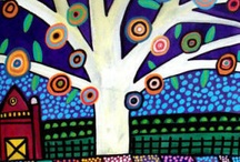 Painting inspirations / by Tria Wylie