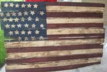 wood pallets/art