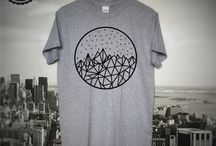 Geometric Art Inspired Collection / We love art inspired collection of designer T-shirts and on this board we are gathering some of the coolest ideas for Men's T-shirts