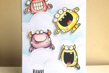 Your Next Stamps-Silly Monsters