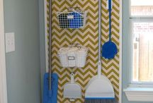 Organized {LAUNDRY ROOM} / by Devan Gaddie