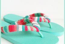 laine et crochet