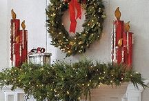 Christmas Decor / Too early to start thinking of Christmas...I think not! / by Alicia Marcum