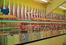 Retro Shops & Restaurants