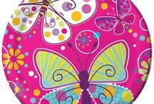 Butterfly Party Ideas and Butterfly Birthday Party Supplies / Flutter on in and see the beautiful Butterfly Party Ideas and Butterfly Birthday Party Supplies we have for you! We have added out own favorite Butterfly party supplies as well as flown around Pinterest to find great ideas from other Pinterest members. Creat your own beautiful butterfly party today!