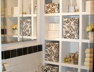 Bathroom / Storage shelves
