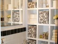 Bathroom / Storage shelves