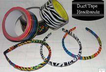 duct tape crafts / by Jennifer Cornelius