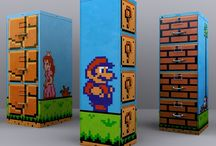 Nintendo themed classroom
