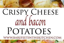 cheese & bacon potatoes